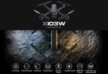 MJX X103W GPS drone