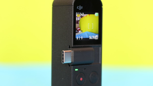 DJI Osmo Pocket Review: Hotshoe
