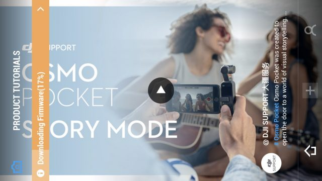 DJI Osmo Pocket Review: Mimo app