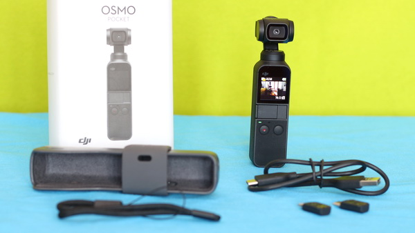 DJI Osmo Pocket Review: Package content