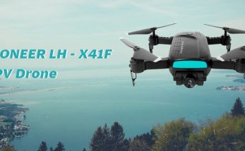PIONEER LH-X41F optical flow drone for less than $50