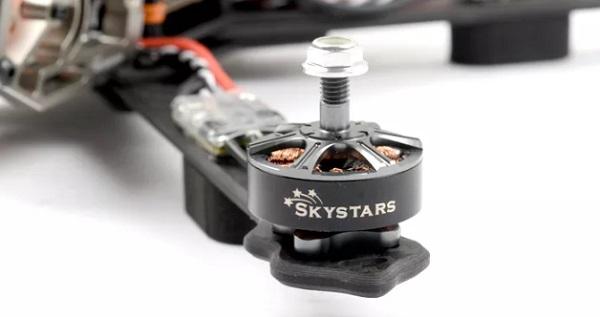 Skystars G370L motor closeup