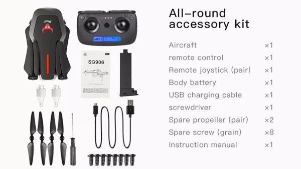 ZLRC SG906 Beast accessories