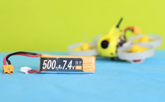 Crazepony 2s 500mAh review