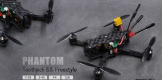GEPRC PHANTOM ToothpickFreestyle racing FPV drone