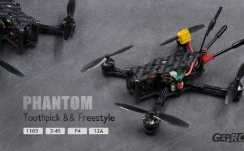 GEPRC PHANTOM ToothpickFreestyle racing FPV drone
