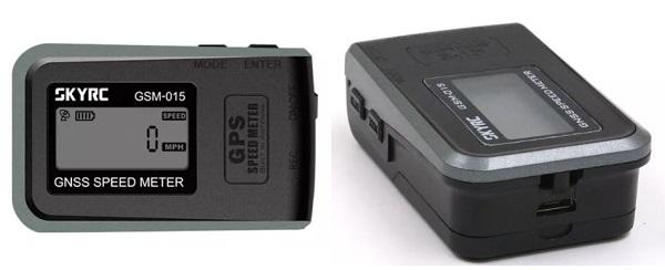 SKYRC GSM_015 GPS speed meter design