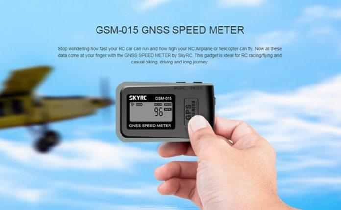 SKYRC GSM-015 GPS drone speed meter
