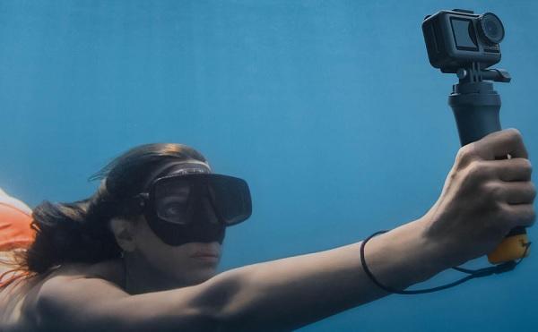 DJI Osmo Action underwater usage