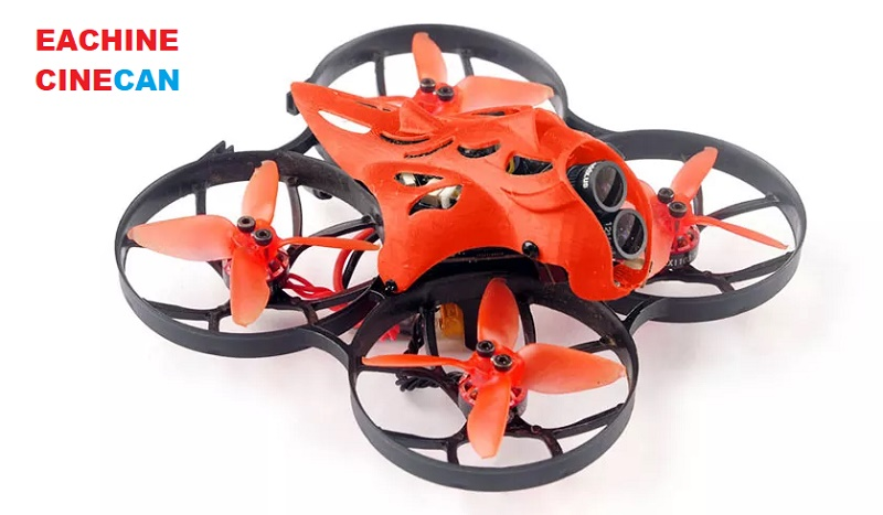 Coming soon: Eachine Cinecan 85mm 4K | First Quadcopter