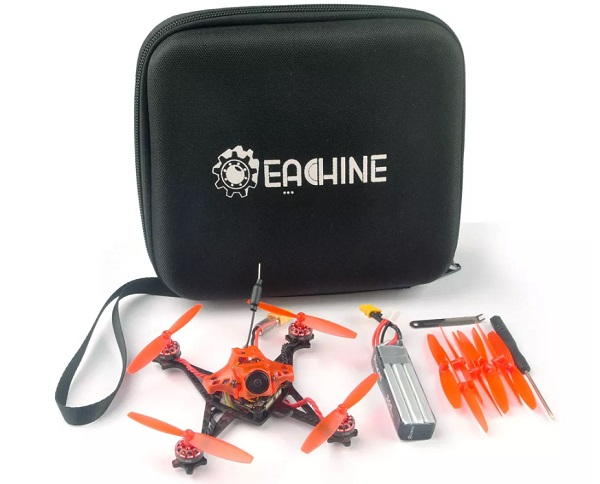 Eachine Red Devil box content