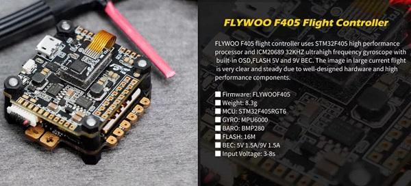 Flight Controller specs