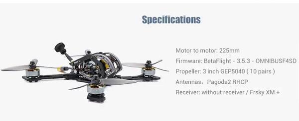 GEPRC Mark3 flight tower specs