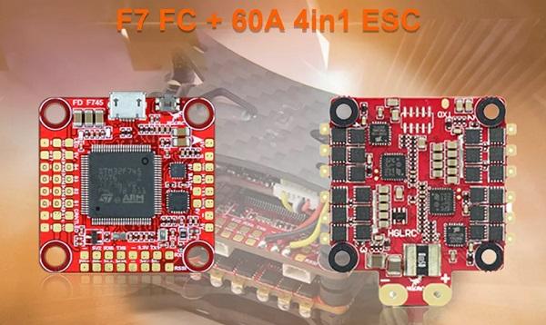 HGLRC Wind5 F7 FC & 60A ESC