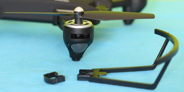 Eachine EG16 Wing God Review: Blade protector