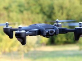 SG106 quadcopter: Entry level drone with 20+ flight time