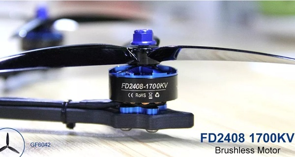 HGLRC Wind6 FD2408 1700KV motors