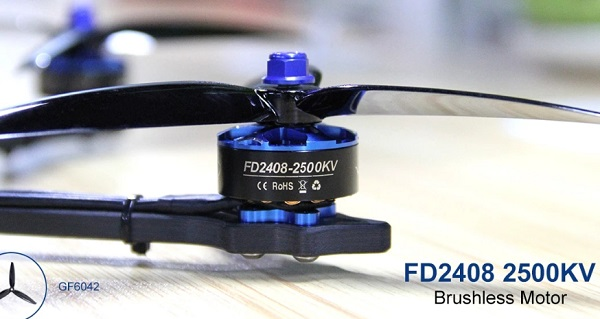 HGLRC Wind6 FD2408 2500KV motors