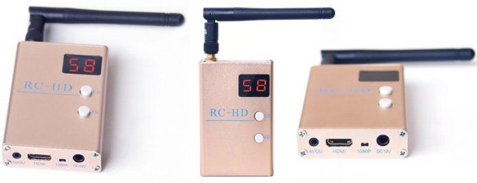 RC832HD HDMI AV 5.8G FPV receiver