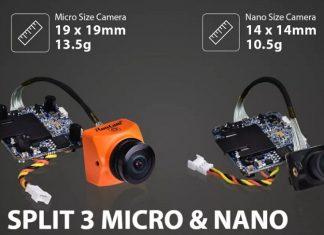RunCam Split 3 Nano & Micro FPV cameras