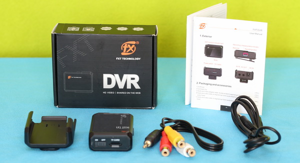 FXT-DVR Review: Unboxing