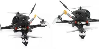 HBRC FF65-GT FPV drone quadcopter