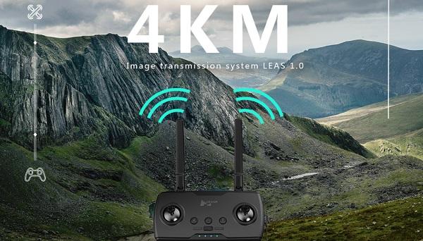 Hubsan Zino Pro transmitter range
