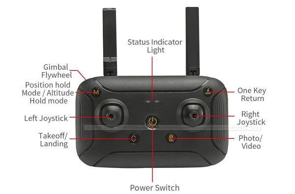 JJRC SMART+ remote controller