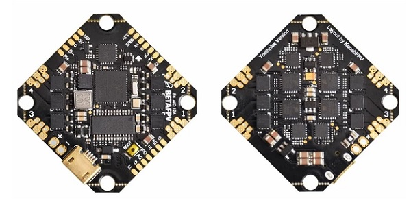 Toothpick F4 2-4S AIO flight controller specs