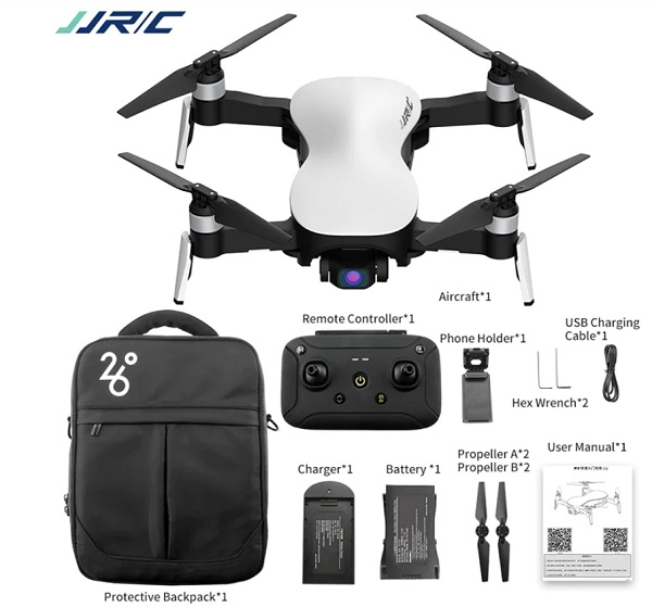 JJRC X12 package content