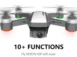 JJRC X9P 4K drone quadcopter
