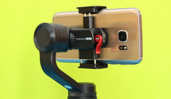 ZHIYUN SMOOTH Q2 Review: Phone mount