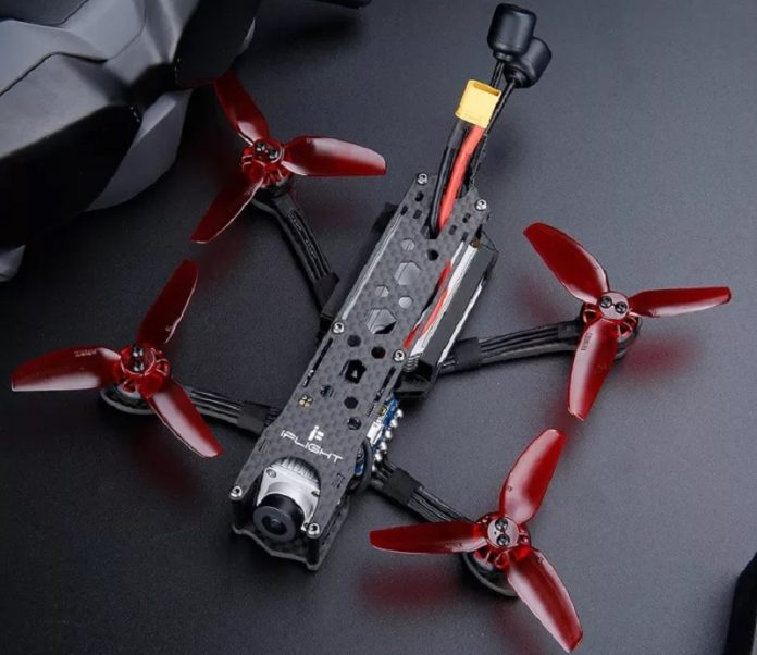 iFlight DC3 HD SucceX Mini-E FPV drone powered by DJI AIr FPV system