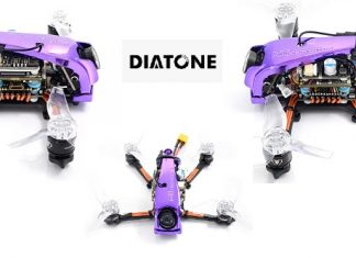 DIATONE GTR249T-HD FPV drone