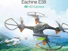Eachine E38 drone
