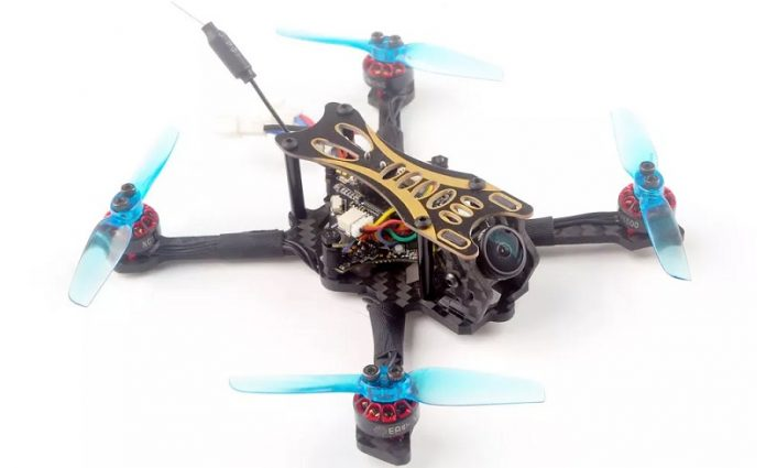 Eachine Novice-II entry level FPV drone