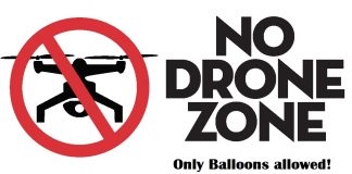 Enjoy Balloon Fiesta, No Drones allowed