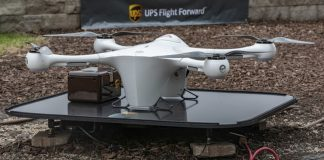 UPS get FAA Certification for UAV delivery