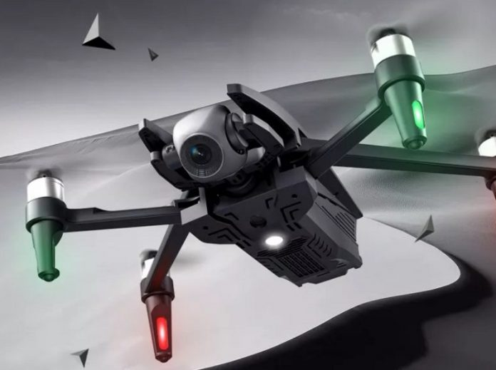 Dragonfly KK13 quadcopter