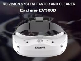 Photo of Eachine EV300D goggles