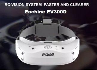 Eachine EV300D FPV glasses