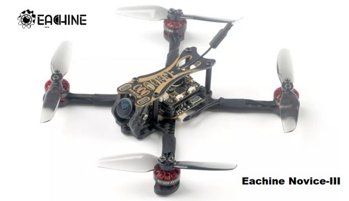 Eachine Novice-III FPV Race drone