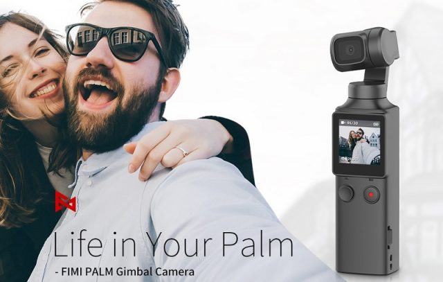 FIMI PALM 4K Handheld Gimbal Camera