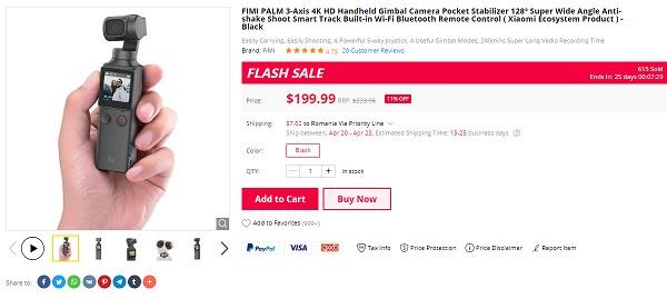 FIMI Palm Flash Sale 2020