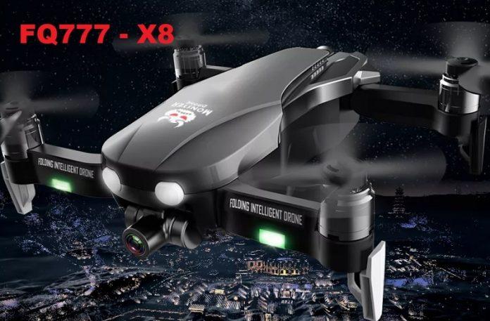 FQ777 F8 GPS drone