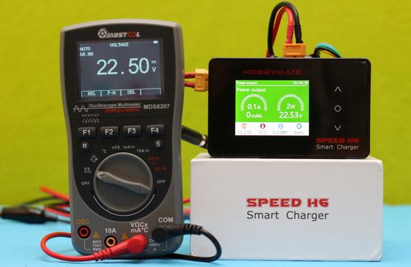 HOBBYMATE Speed H6 as Power supply mode