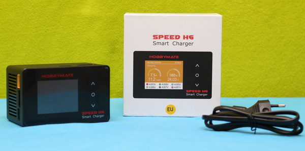 HOBBYMATE Speed H6 charger review: Unboxing