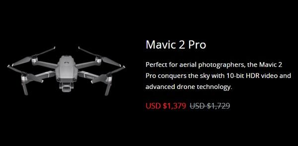 Mavic 2 Pro Black Friday 2019 deal