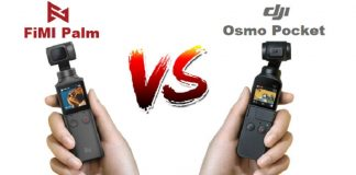 Osmo Pocket vs FiMI Palm