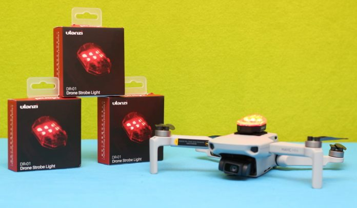 Drone strobe light review